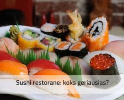 Sushi vilniuje